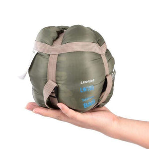 Lukowulf's Camping Haven Army Green Travel Ultra-light Sleeping Bag