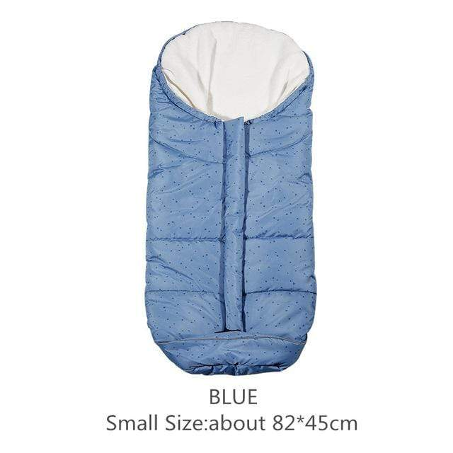 Lukowulf's Camping Haven Blue 82x45cm Autumn Winter Warm Baby Sleeping Bag Sleepsack For Stroller,Soft Sleeping bag for baby,Baby slaapzak,sac couchage naissance