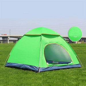 Lukowulf's Camping Haven Double door green Anti-UV Waterproof Ultralight Tent