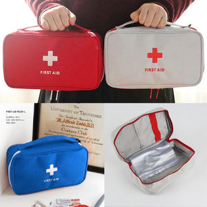 Lukowulf's Camping Haven Empty Large First Aid Kit Emergency Medical Box Portable Travel Outdoor Camping Survival Medical Bag Big Capacity Home/Car