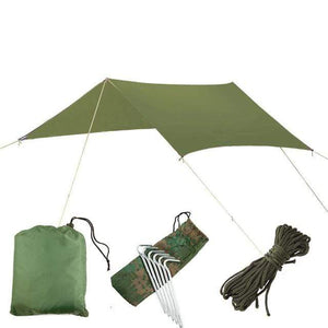 Lukowulf's Camping Haven green canopy only / China 1-2 Person Outdoor Mosquito Net Parachute Hammock Camping Hanging Sleeping Bed Swing Portable  Double  Chair Hamac Army Green
