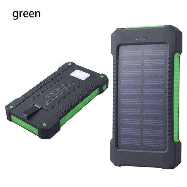 Lukowulf's Camping Haven Green Solar Power Bank
