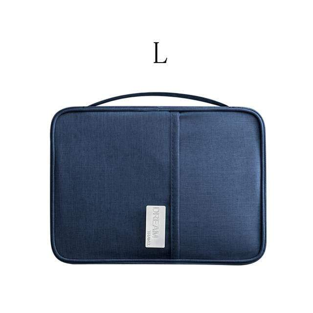 Lukowulf's Camping Haven Navy L Travel Organizer bag
