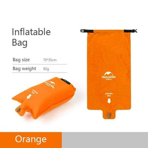 Lukowulf's Camping Haven Orang Inflatable bag Naturehike Nylon TPU Sleeping Pad Lightweight Moisture-proof Air Mattress Portable Inflatable Mattress Camping Mat NH19Z032-P