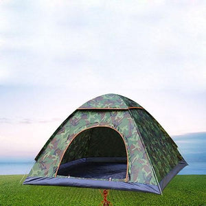 Lukowulf's Camping Haven Single door Anti-UV Waterproof Ultralight Tent