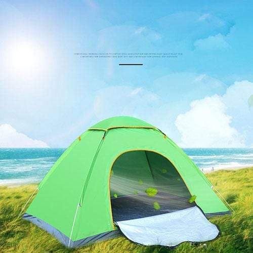 Lukowulf's Camping Haven Single door green Anti-UV Waterproof Ultralight Tent