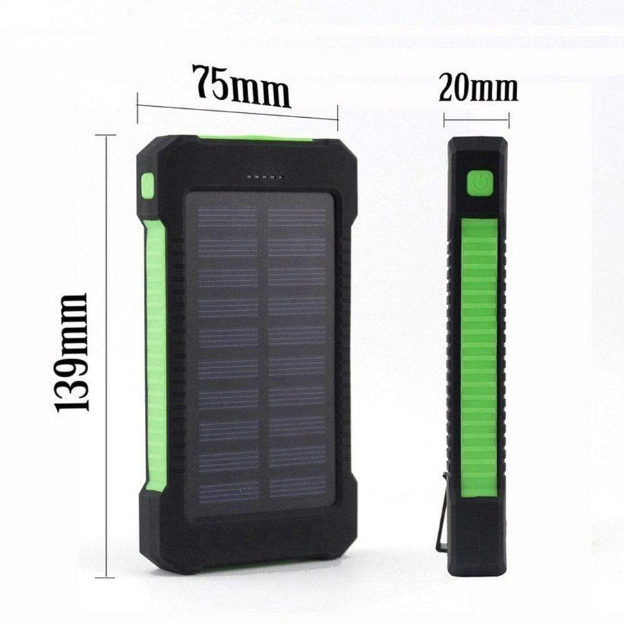Lukowulf's Camping Haven Solar Power Bank