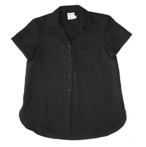 BUTTON UP, BLACK