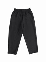 COURT PANTS, BLACK