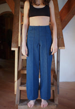 TAB PANTS, DENIM
