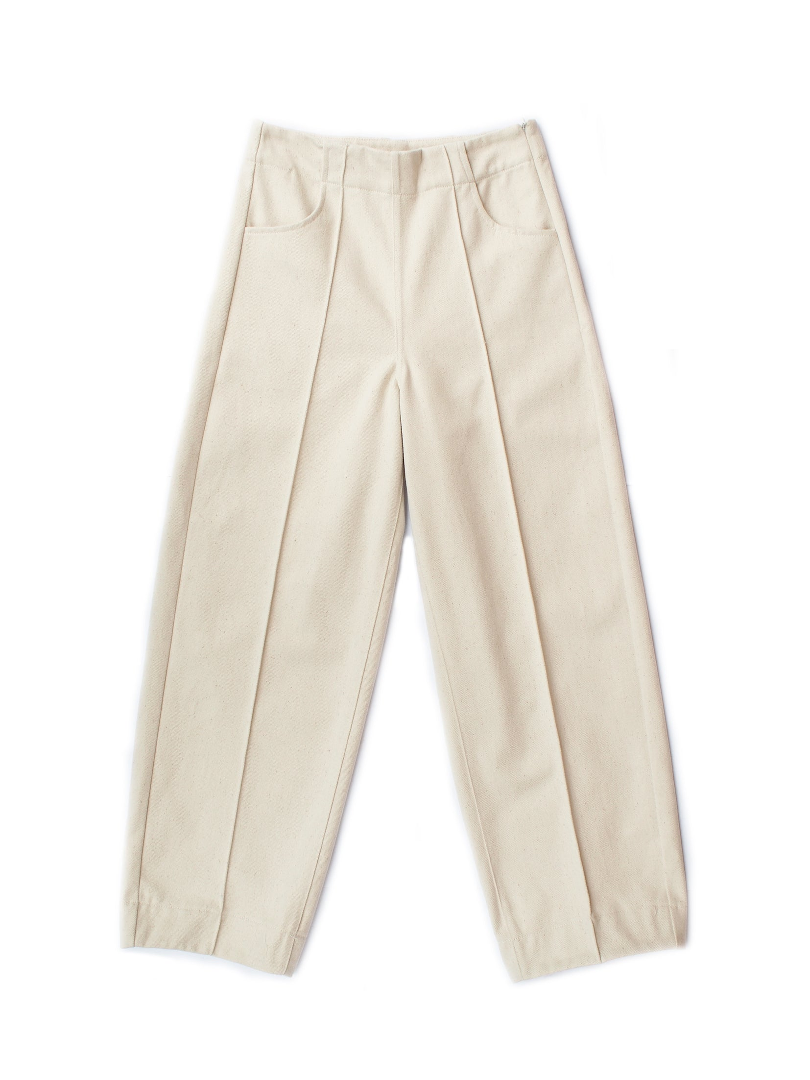 TAB PANTS, NATURAL