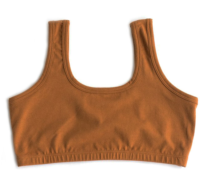 ARQ FULL COVERAGE BRA, TOFFEE