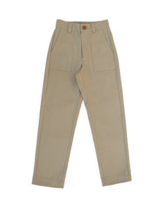 UTILITY PANTS - SADDLE TAN