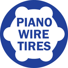 Load image into Gallery viewer, Piano Wire Tires Set - Unloaded