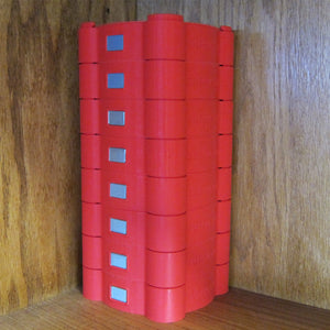 Red Coil Canister - Set of 8 Canisters Closeout Deal