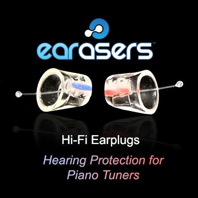 Earasers Hearing Protection for Piano Tuners