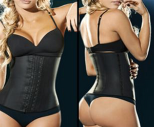 3 HOOK LATEX AGGRESSIVE WAIST TRAINER