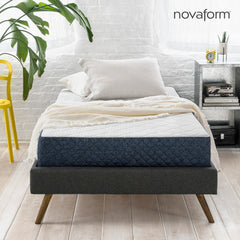 8 Gel Memory Foam Mattress Twin Novaform