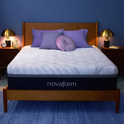 "ComfortGrande™ Plus 14"" Gel Memory Foam Mattress - Full"