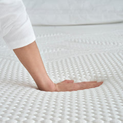 "12"" Serafina™ Split King Memory Foam Mattress"