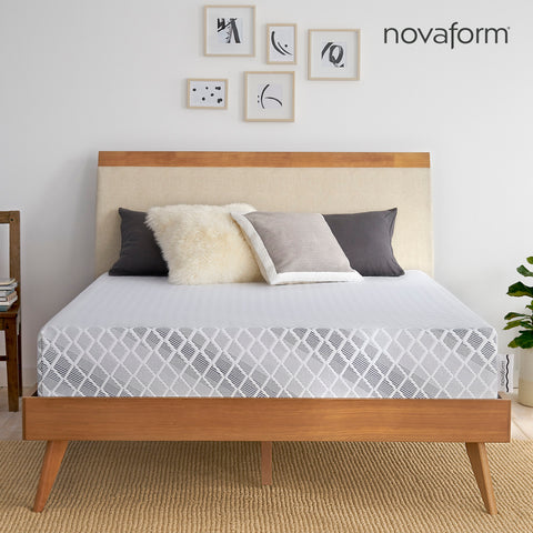 Customer Favorites Serafina Pearl Firm Queen Novaform