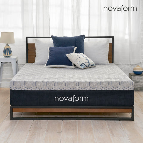 "12"" Overnight Recovery™ Gel Memory Foam Mattress - Queen"