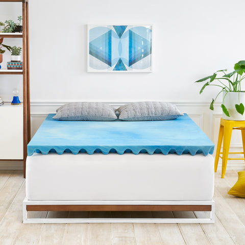 "Mattress Makeover™ 3"" Gel Memory Foam"