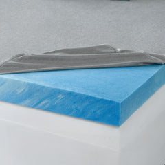 "3"" Anti-Microbial Gel Memory Foam Topper"