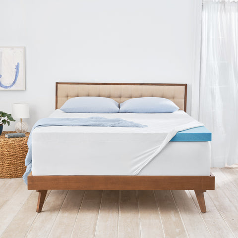 "ComfortLuxe 3"" Gel Memory Foam Mattress Topper"