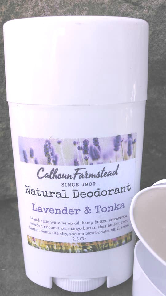 All Natural Deodorant - Lavender & Tonka