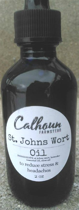 St Johns Wort Oil 2 fl oz