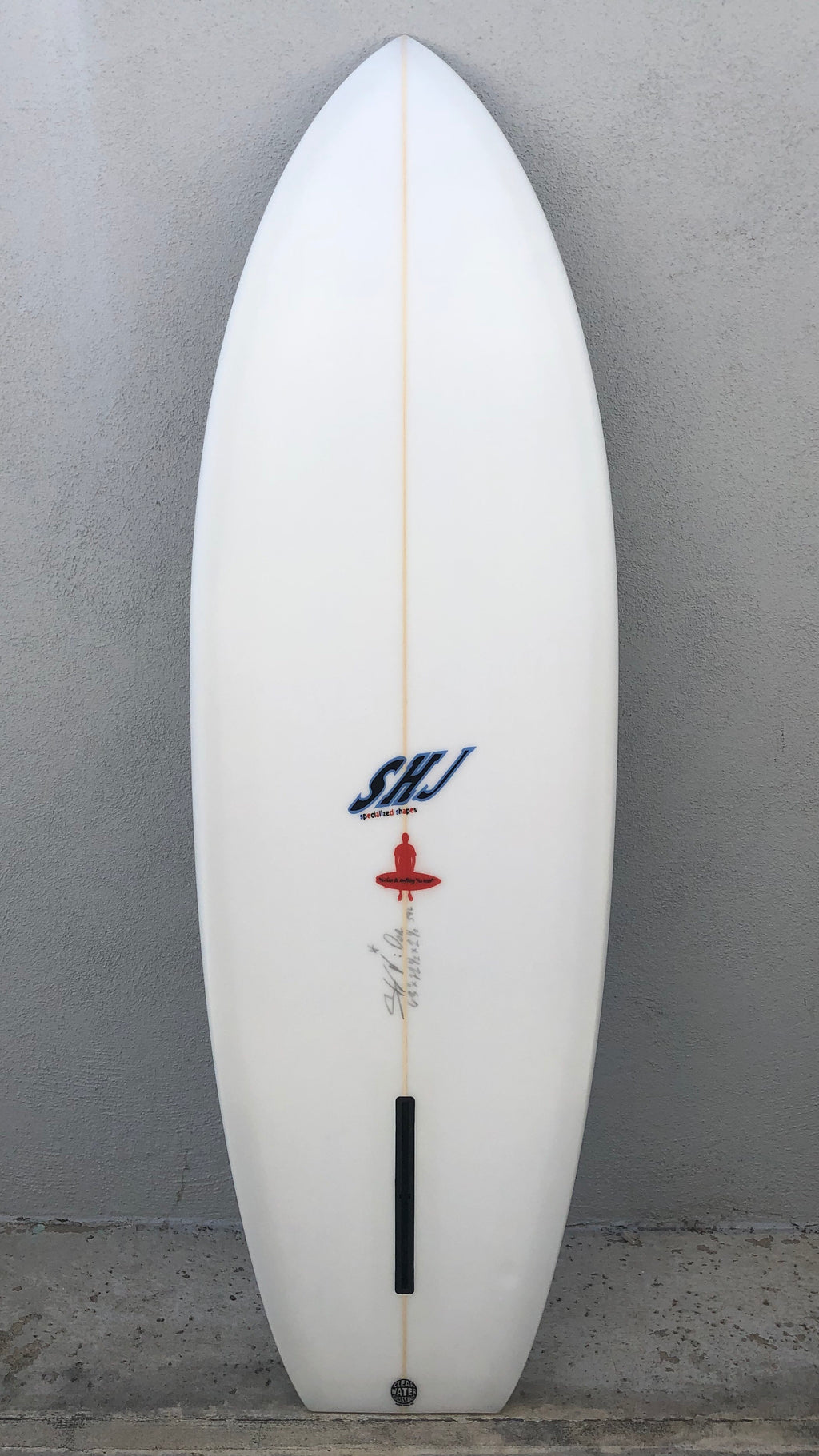 Single Fin Chop Tail