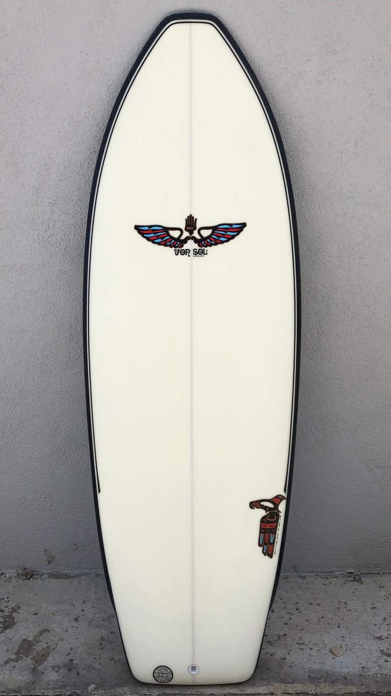 Flying Manta 5'4""