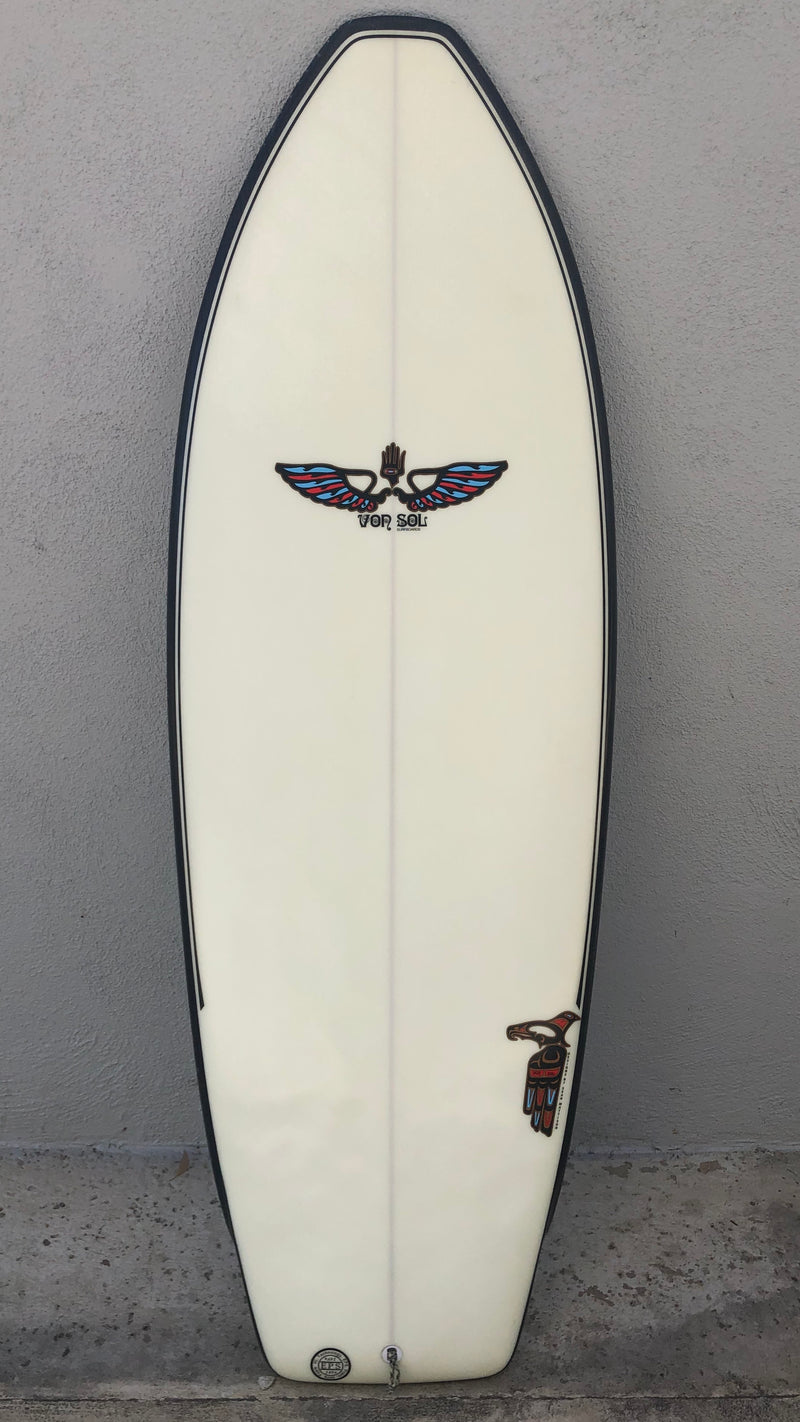 "Flying Manta 5'4"" Wired Tech"