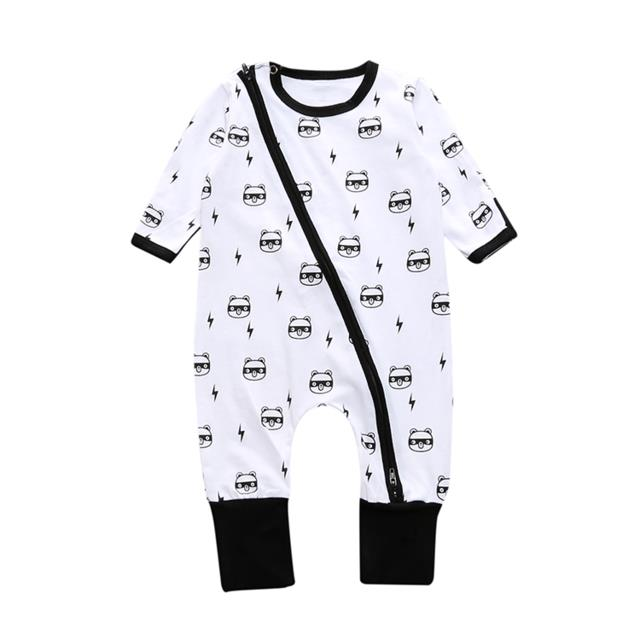 76a127458c2c Newborn Baby Winter Clothes 100% Cotton Long Sleeve Rompers ...
