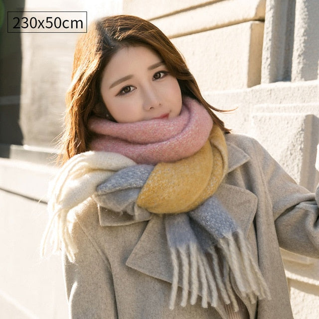 5f984ae5c Winter Scarf for Women Cashmere Scarves Shawls Soft Scarf for Women ...