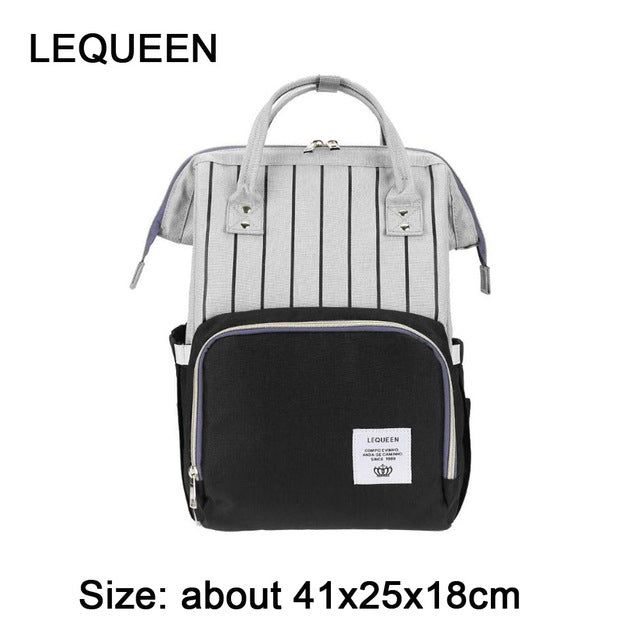 f8666ef8518 Mummy Maternity Nappy Bag Large Capacity Baby Bag Travel Backpack for Baby  Care