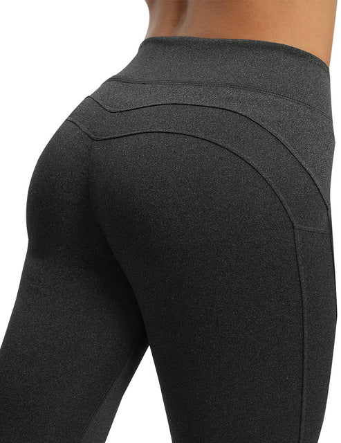 7956fc49761065 NORMOV Fashion Fitness Leggings Women High Waist Workout Push Up Leggins Casual  Women Pants Mujer Solid