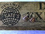 Maple Leaf Copper Earrings