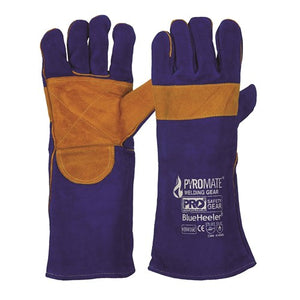 Pro Choice Safety Gear Pyromate® Blue Heeler® - Blue & Gold Kevlar® Large