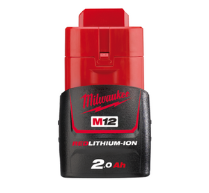 Milwaukee M12™ 2.0Ah REDLITHIUM-ION™ Compact Battery Pack M12B2