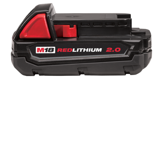 Milwaukee M18™ 2.0AH REDLITHIUM-ION™ Compact Battery M18B2