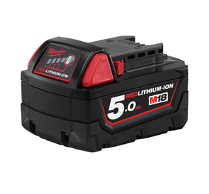 Milwaukee M18™ 5.0AH REDLITHIUM-ION™ BATTERY M18B5