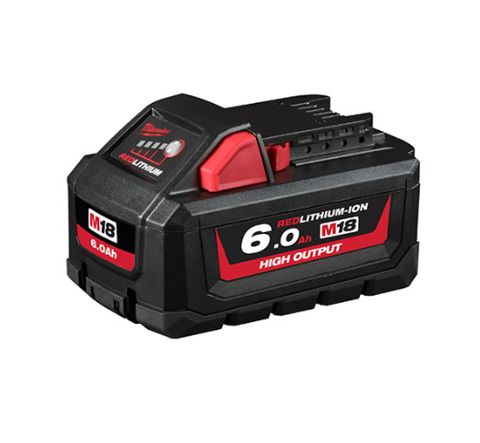 Milwaukee M18™ REDLITHIUM-ION™ HIGH OUTPUT 6.0Ah Battery Pack M18HB6