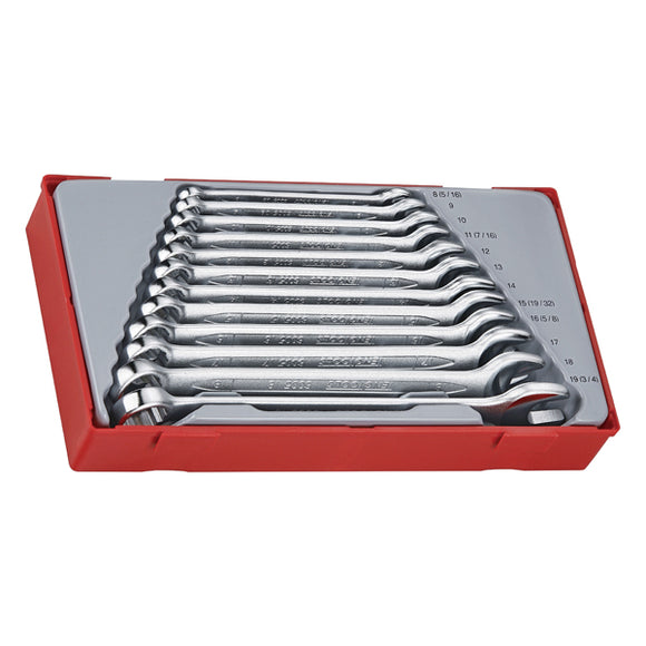 Teng 12pc Combination Spanner Set 8-19mm - TC-Tray