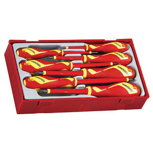 Teng 7pc MD 1000V VDE Screwdriver Set - TC-Tray