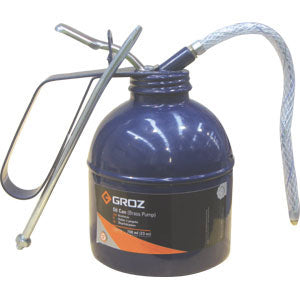 Groz 700ml/23oz Oil Can W/ Flex & Rigid Spout