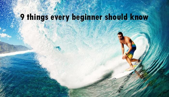 9 things every beginner surfer should know