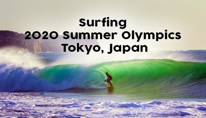 Surfing in the 2020 Summer Olympics, Tokyo, Japan