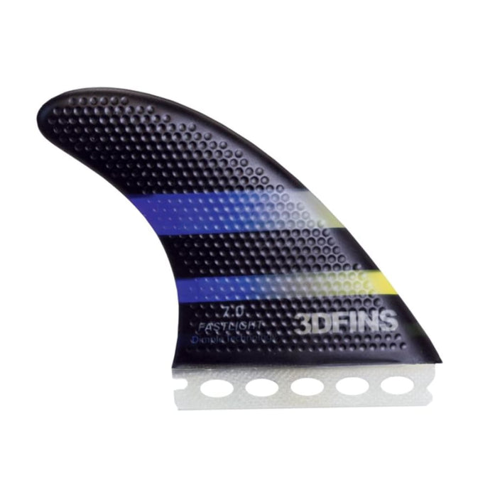 3Dfins Fastlight 7.0 Large Thruster Fin (Dimple Technology) - 3Dfins - Thruster Fins